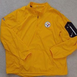 Nike Pittsburgh Steelers 1/4 Zip Windbreaker